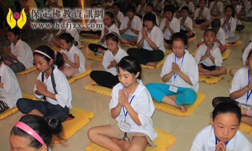 2011暑期小朋友欢乐营开营啦 - 法海真源 - 中国保定观音寺欢迎您!祝您吉祥!